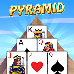 Pyramid Solitaire with Themes - FREE! In Pyramid Solitaire, 13 is your lucky number! It's up to you how your game looks. Change your mind? Change your theme. It's easy! - logo