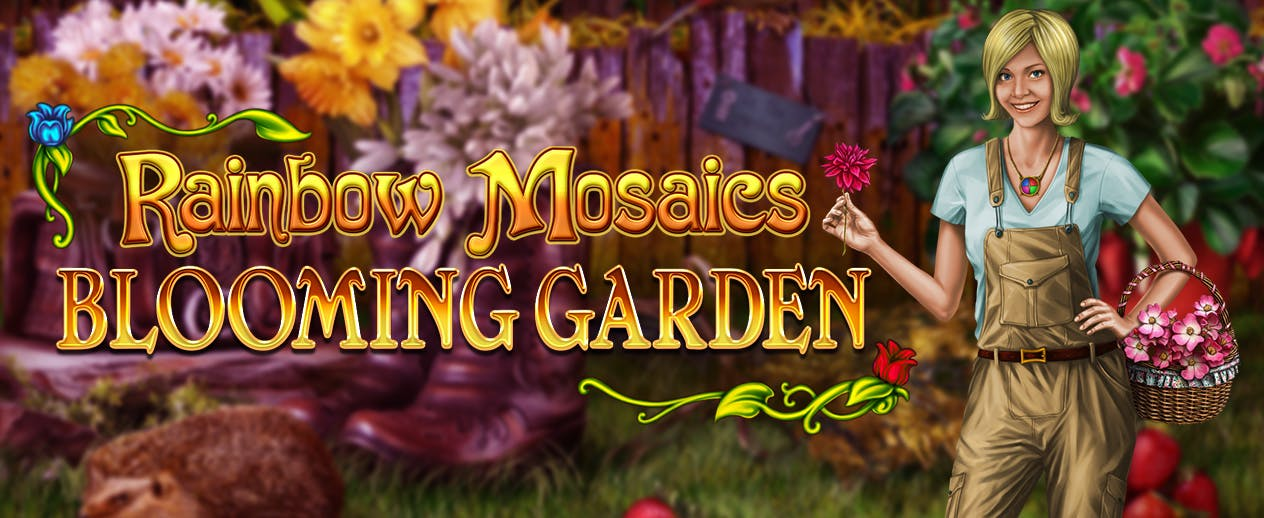 Rainbow Mosaics: Blooming Garden - Win the competition