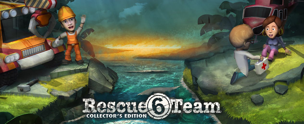 Rescue Team 6 Collector's Edition - Save the day!