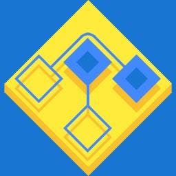 Rhomb - Minimal relaxing puzzle game. Just a good, non-intense, pure gaming experience you will enjoy. - logo