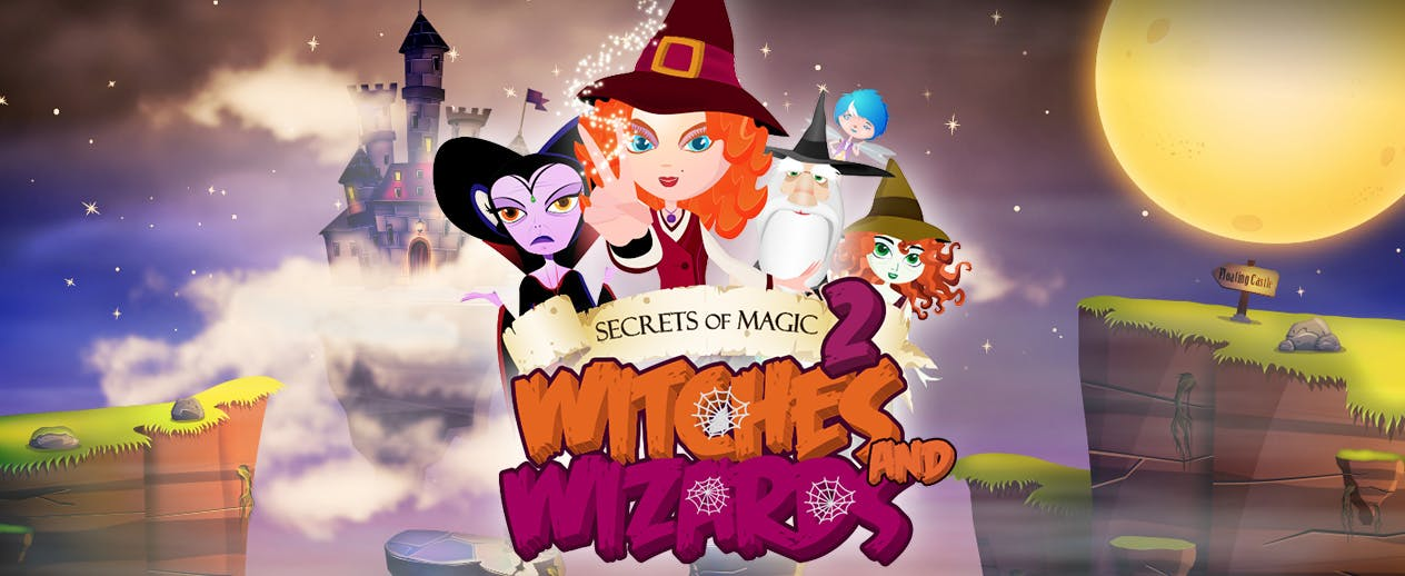 Secrets of Magic 2 - Witches and Wizards - Prepare for magical battle!