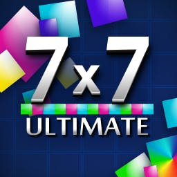 7 x 7 Ultimate - Can you master the 7x7 board? Form lines so that you don't let the colorful tiles fill the whole thing! - logo