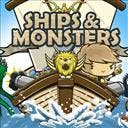 Ships and Monsters - logo
