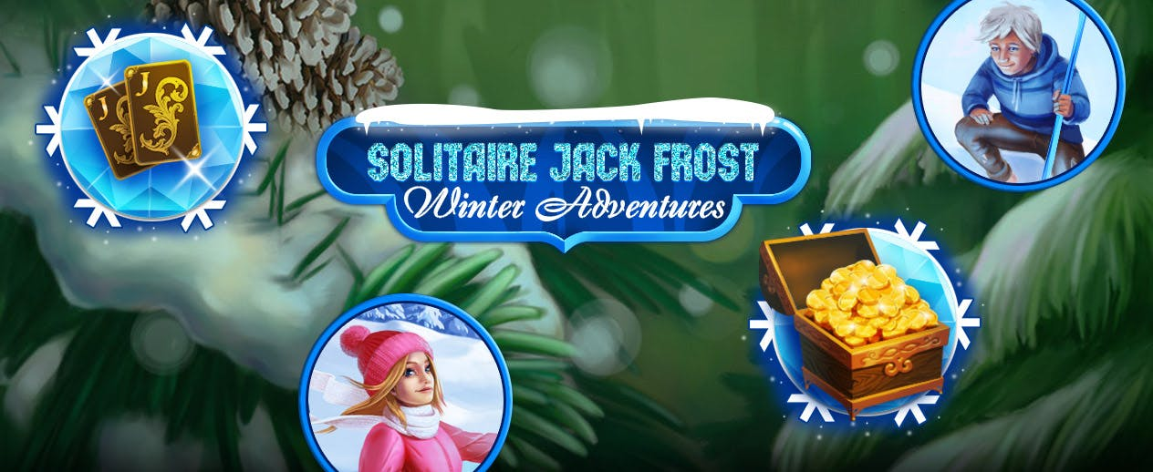 Solitaire Jack Frost Winter Adventures - Make the holidays magical!