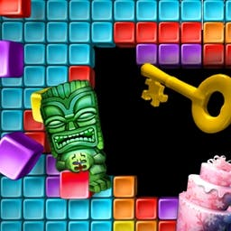 Super Collapse! Puzzle Gallery 5 Online - The fun continues in Super Collapse - Puzzle Gallery 5! Play online today! - logo