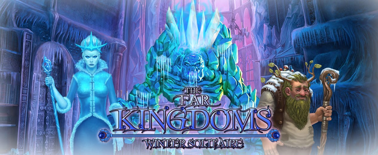 The Far Kingdoms: Winter Solitaire - Use the power of the magic cards!