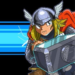 Thor: Bring the Thunder Online - The God of Thunder is really angry and is ready to bring the thunder! Play Thor: Bring the Thunder online today and help him fight justice! - logo