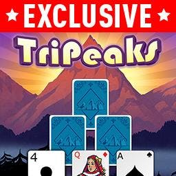 TriPeaks Solitaire with Themes - Play TriPeaks Solitaire with Themes, the classic card game FREE! Customize your game the way you want to with themes! You'll love how easy it is. - logo