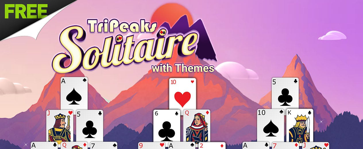 TriPeaks Solitaire with Themes - What makes this YOUR game? Pick a theme!