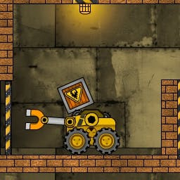 Truck Loader 3 - Move the Loader and use its magnet to get the boxes onto the trucks in this physics-based puzzler, Truck Loader 3! - logo