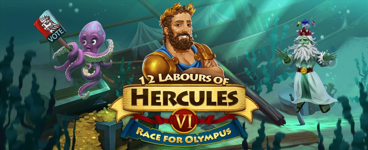 12 Labours of Hercules VI: Race for Olympus - 12 Labours of Hercules VI
