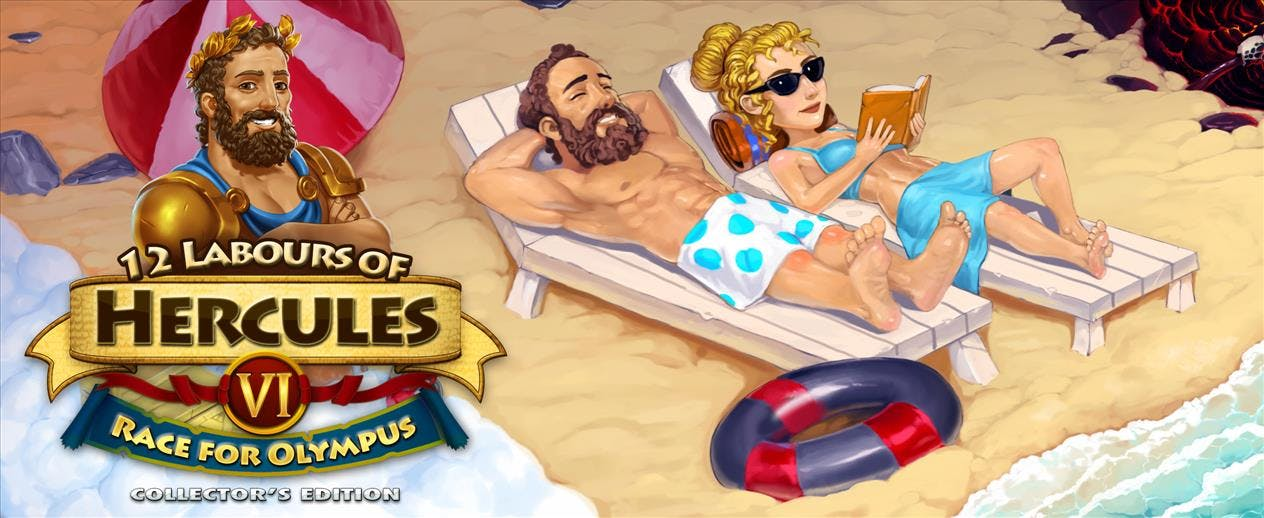 "12 Labours of Hercules VI: Race for Olympus ""Collectors Edition"" - What happened to Zeus?!"