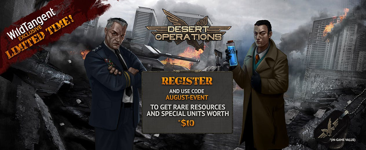 Desert Operations - Desert Operations WildTangent Exclusive! - image