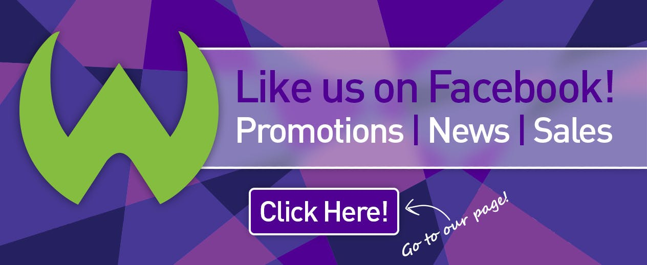 Like us! - Promos, news, sales, & more! - image