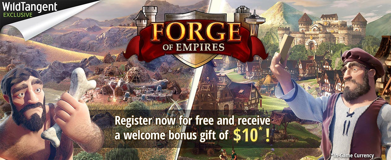 Forge of Empires - WildTangent Exclusive Welcome Bonus! - image