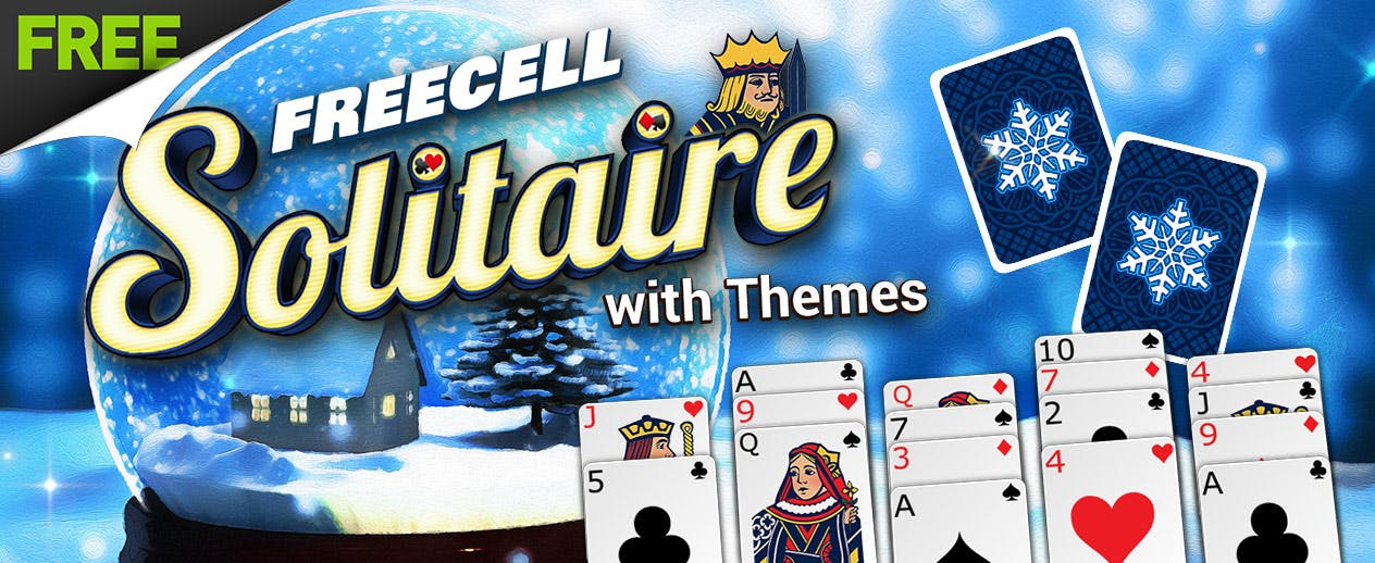 FreeCell Solitaire with Themes - New Halloween & Fall Themes! - image