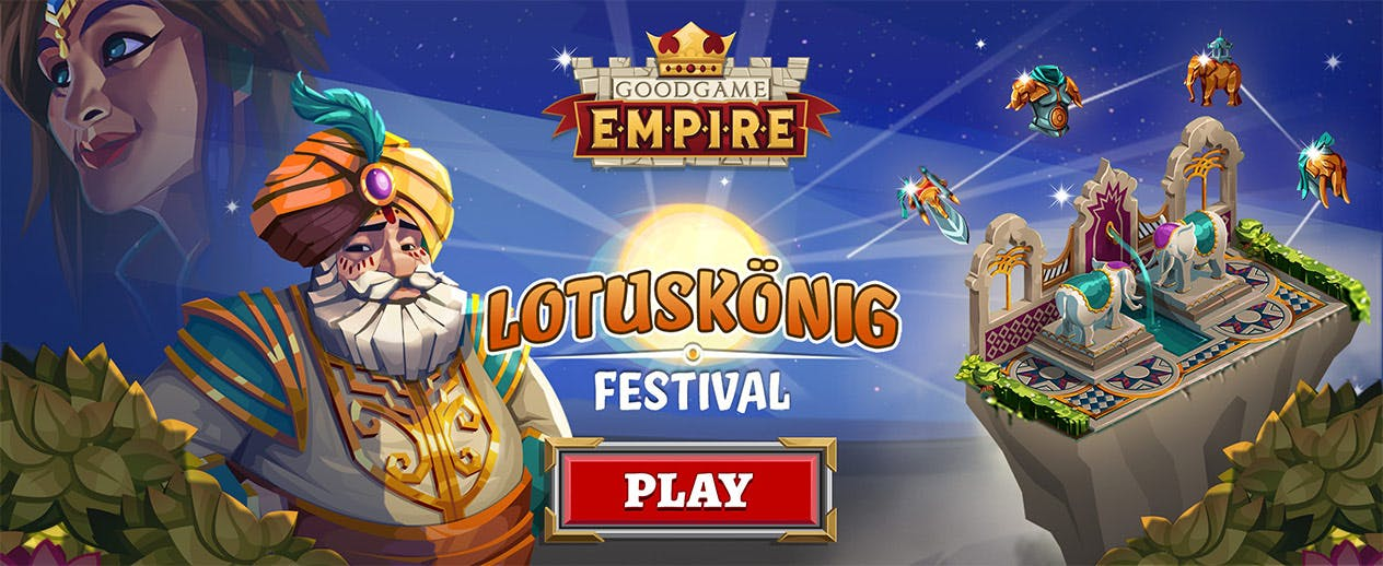 Goodgame Empire - New Update: Festival of the Lotus King! - image