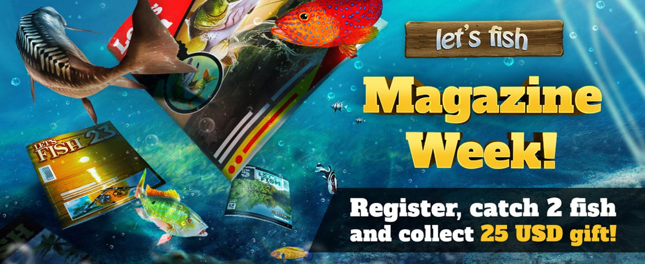 Let's Fish - WildTangent Exclusive! - image