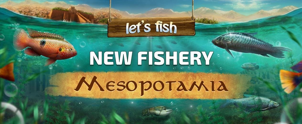 Let's Fish - New Fishery! - image