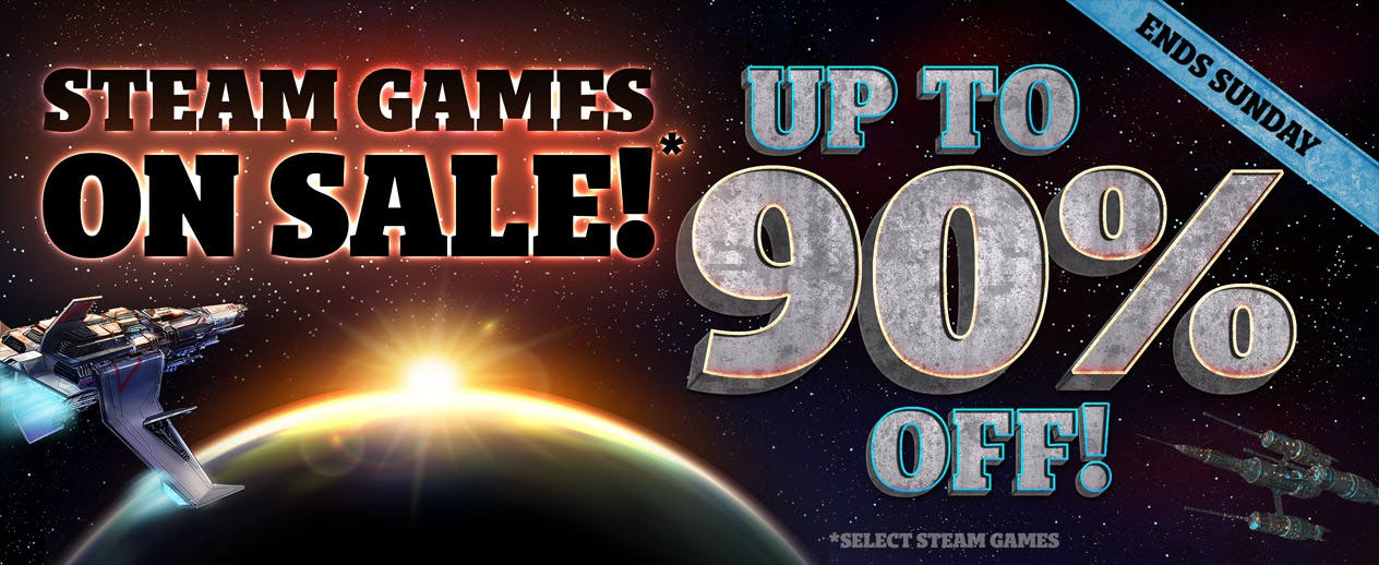 Steam Sale - Up to 90% off Steam Games! - image