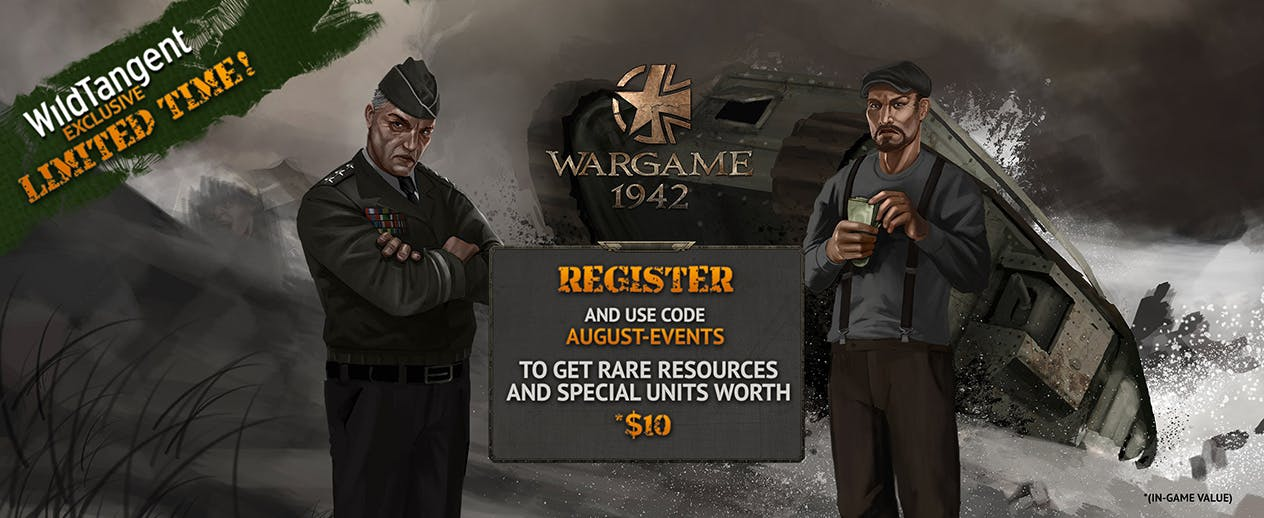 Wargame 1942 - WildTangent Exclusive! - image