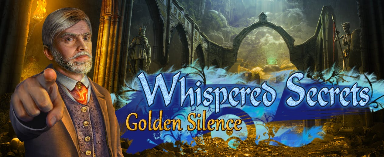 Whispered Secrets: Golden Silence - Whispered Secrets: Golden Silence - image