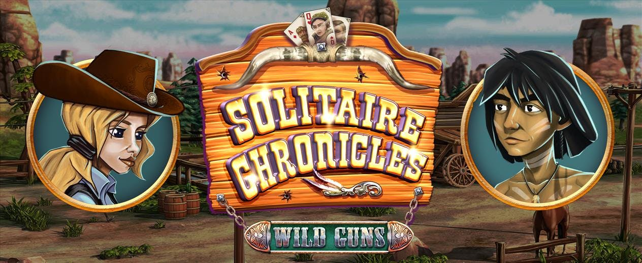 Solitaire Chronicles: Wild Guns - Help Shannon stop the Gang