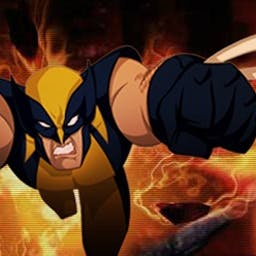 Wolverine Search and Destroy - Wolverine must defeat legions of Magneto's robots as he searches for a way to free Genosha from Magneto's evil grip. Play now! - logo
