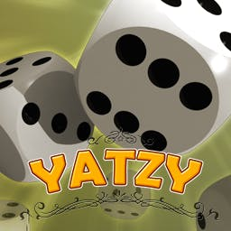 Yatzy - What's your high score? Play the FREE board game Yatzy now! - logo