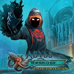 Abyss: The Wraiths of Eden Collector's Edition - Your fiancée has gone missing in the dark abyss of the ocean. Find hidden objects and solve mini-games to find her. Play Abyss: The Wraiths of Eden! - logo