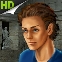 Alabama Smith Escape Pompeii HD - Help Alabama Smith find the Amulet of the Ages, an artifact that allows its bearer to travel through time! - logo