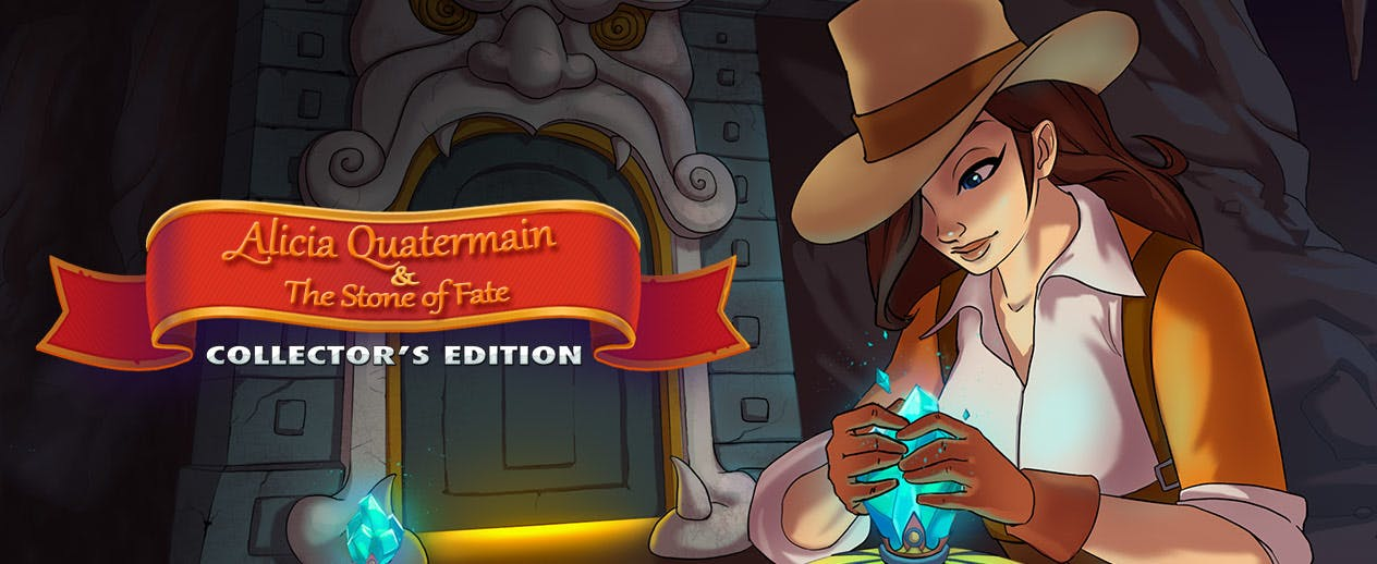 Alicia Quatermain and the Stone of Fate Collector's Edition - The Stone of Fate grants enormous power - image