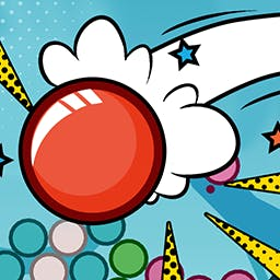 Area 42 - Area 42 is a fun physics- and gravity-based bubble shooter. Play this arcade game now! - logo