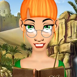 Ashley Jones and The Heart of Egypt - Join Ashley Jones, archaeologist, as she matches relics from ancient Egypt. - logo