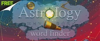 Astrology Word Finder - image