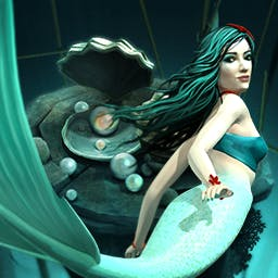 Atlantis: Pearls of the Deep - You must find the Crystals and save Atlantis in this innovative physics-based, match 3, marble dropper - Atlantis - Pearls of the Deep! - logo