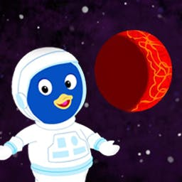 Backyardigans Mission to Mars - Join the Backyardigans on their Mission to Mars in this game for ages 4-6!  Will you help them collect the Boinga Crystals? - logo