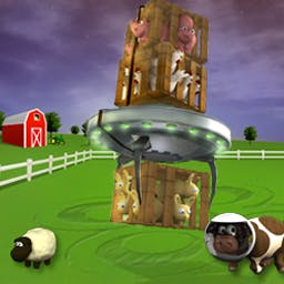 Barnyard Invasion - Match farm animals & save them from cruel human masters. - logo