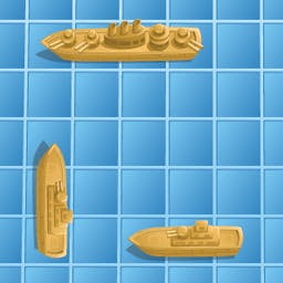 Battling Ships - The classic game of Battling Ships is full of nostalgia while featuring exciting new modes. Experience this new take on a seek-and-destroy game! - logo