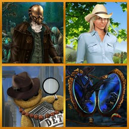 Best of Hidden Object Vol. 2 - This bundle includes Voodoo Chronicles, Apothecarium, Search for the Wonderland, and Farmington Tales - logo