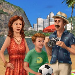 Big City Adventure: Rio - The latest chapter in the hit hidden object series is here! Samba your way to a tropical paradise in Big City Adventure: Rio! - logo