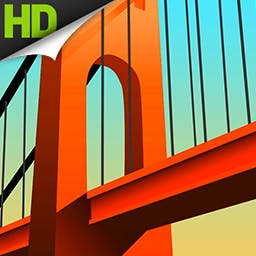 Bridge Constructor - Construct a bridge, put it to the test by driving cars and trucks over it, and unlock the next brain-teasing level in Bridge Constructor! - logo