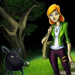 Brunhilda and the Dark Crystal - Brunhilda and the Dark Crystal is a magical hidden object game! - logo