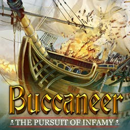 Buccaneer - Plunder to become the most famous pirate captain of all time in Buccaneer! - logo