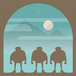 Burly Men at Sea - One of TIME's top games of 2016, Burly Men at Sea is a folktale about a trio of bearded fishermen who step away from the ordinary to seek adventure. - logo