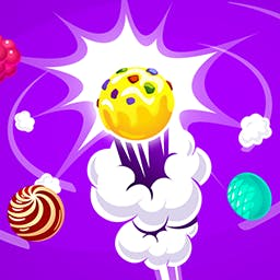 Candy Bubble Splash - Help get candy out of the machines for little Suzie. Shoot candies, match 3 and watch them fall in Candy Bubble Splash! - logo