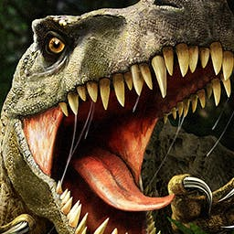 Carnivores - Dinosaur Hunter - Carnivores: Dinosaur Hunter, a hunting simulator, brings you to a distant planet where you can go one on one with over 26 kinds of dinosaurs. - logo