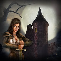 Castle Secrets: Between Day and Night - In Castle Secrets: Between Day And Night, the Order of the Hildegards needs a hero. Will you help them in this hidden object, role-playing game? - logo