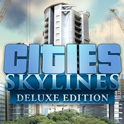 Cities: Skylines Deluxe Edition - Cities:Skylines is a modern take on the classic city simulation. Deluxe Edition includes 5 In-game historical monuments, digital art book & soundtrack - logo