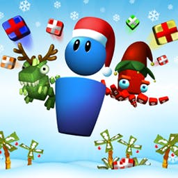 COLLAPSE Holiday Edition - Frolic in the festive fun of COLLAPSE! - Holiday Edition, the game that blends blockbusting color-matching excitement with Christmas cheer! - logo